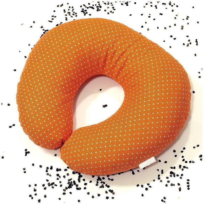 Pohankový nákrčník oranžový