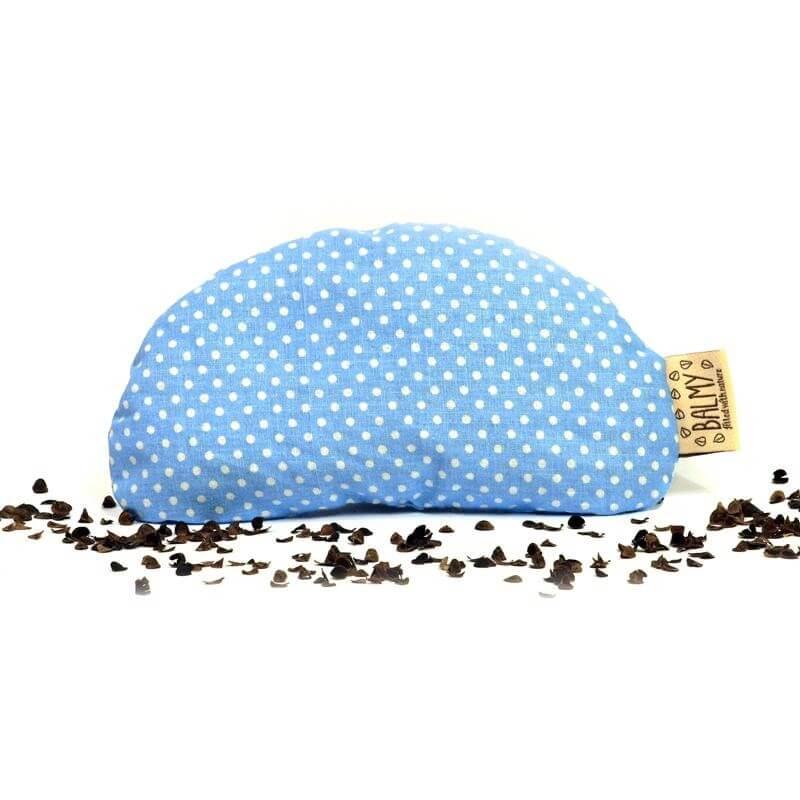 Pohánková podložka pod zápästie modrá