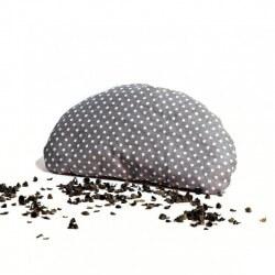 Pohánková podložka pod zápästie šedá
