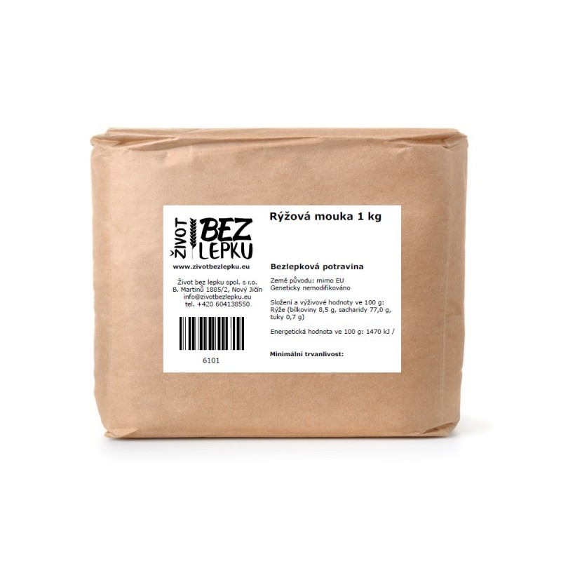 Rýžová mouka 1 kg