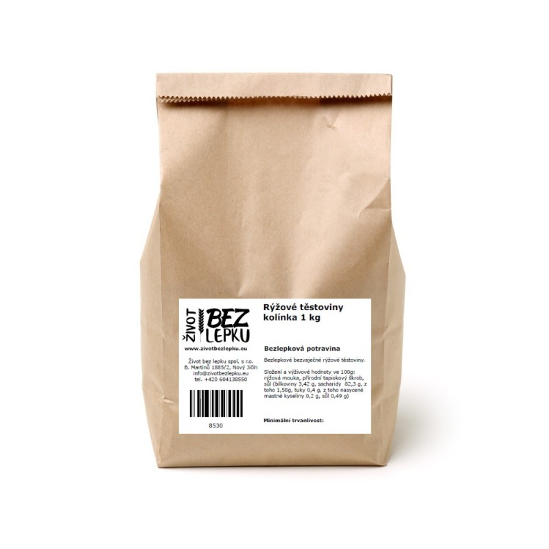 LUCKA ryžové cestoviny kolienka 1 kg