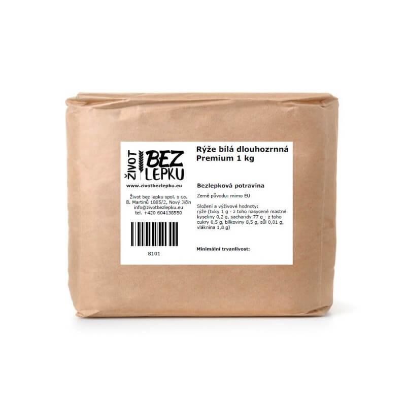 Rýže dlouhozrnná loupaná Premium 2 kg