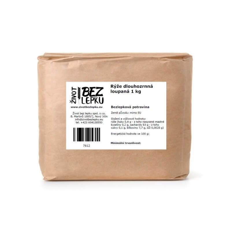 Ryža dlhozrnná lúpaná 1 kg