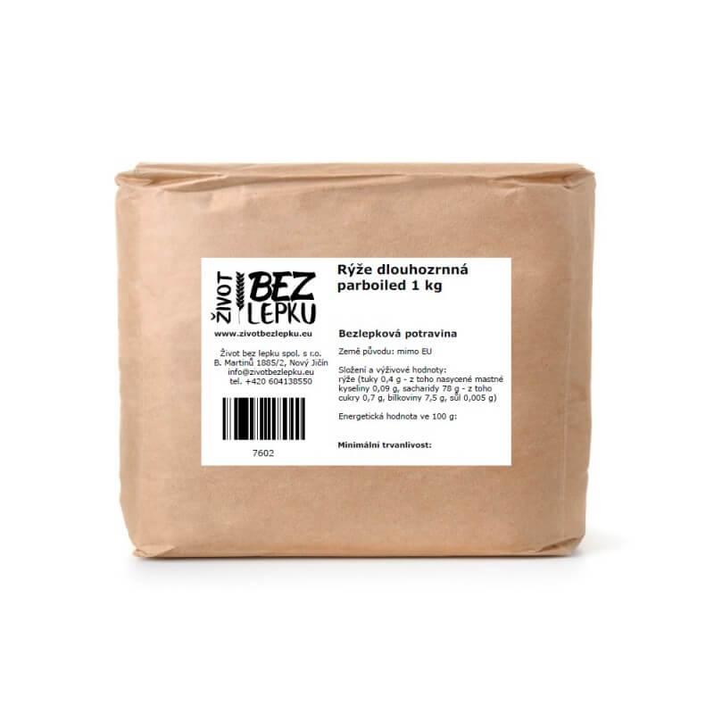 Ryža dlhozrnná parboiled 1 kg