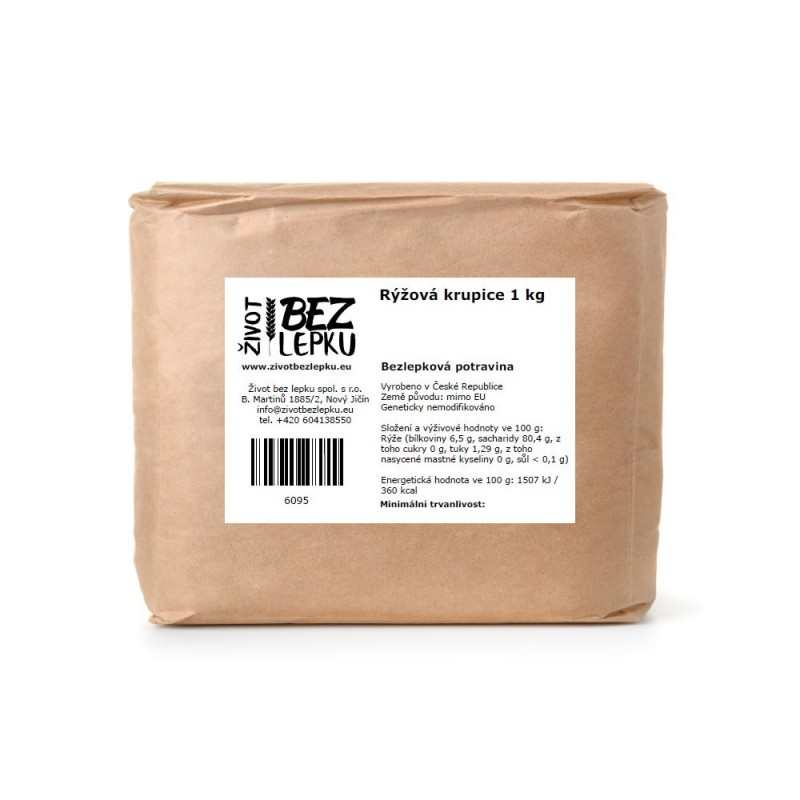 Rýžová krupice 1 kg