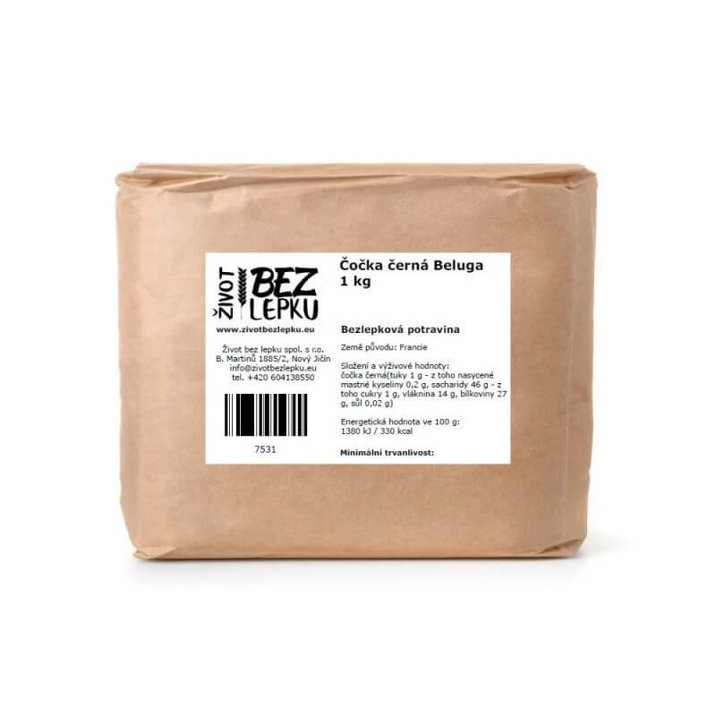 Čočka černá Beluga 1 kg