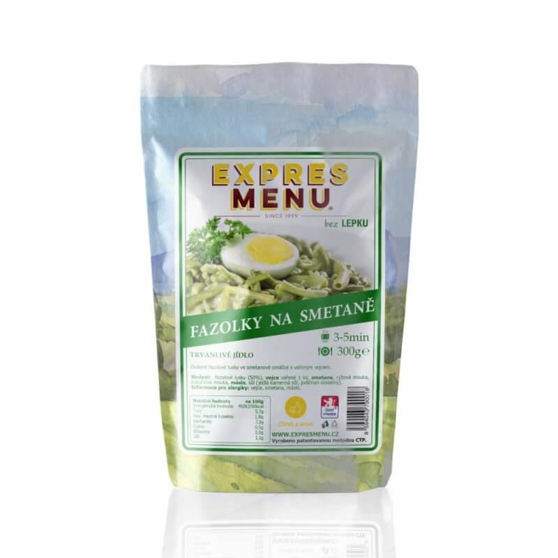 Fazolky na smetaně 1 porce EXPRES MENU 300 g