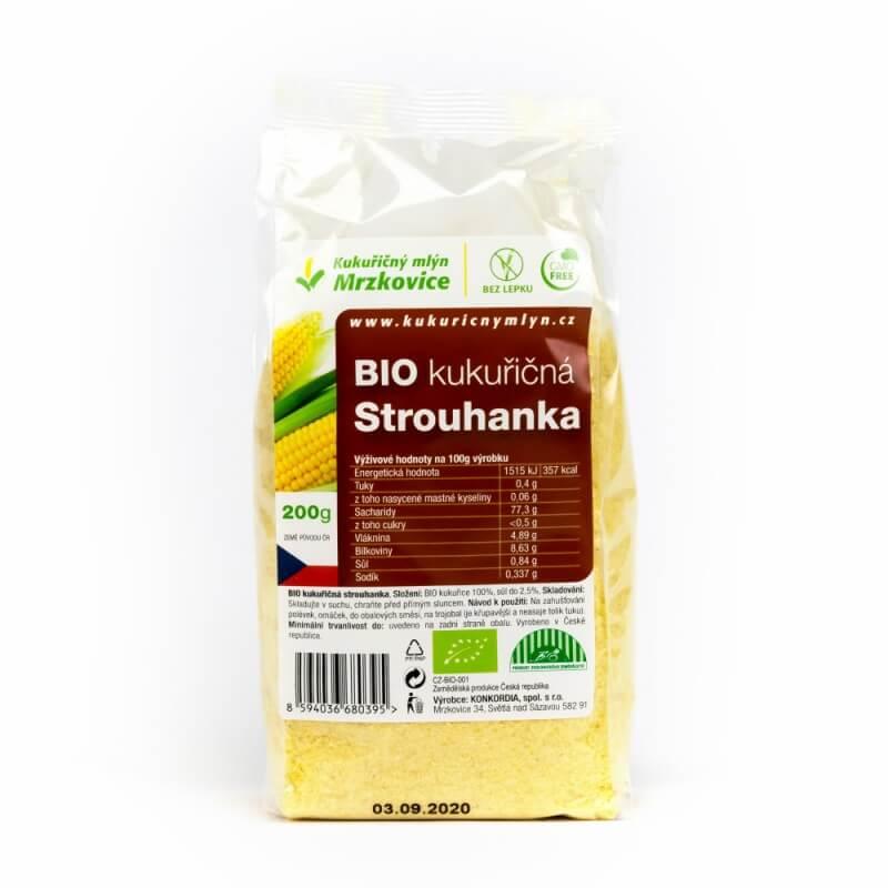 BIO kukuřičná strouhanka 200 g