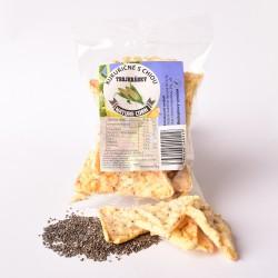 Kukuričné trojhránky s chiou 25 g