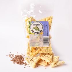 Kukuřičné trojhránky s lněným semínkem 25 g