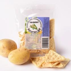 Kukuřično-bramborové trojhránky 25 g