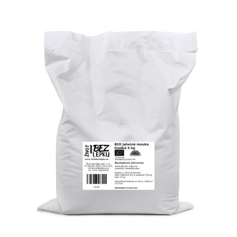 BIO jahelná mouka hladká 5 kg