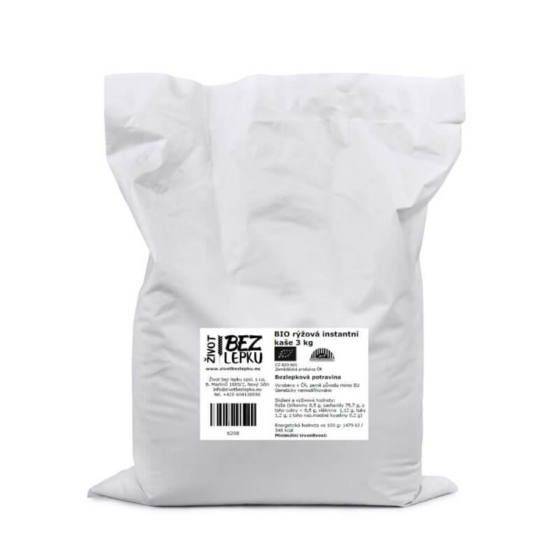 BIO rýžová instantní kaše 3 kg