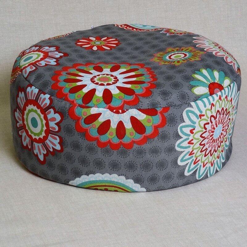 Pohankový meditační sedák 38 x 15 cm mandaly