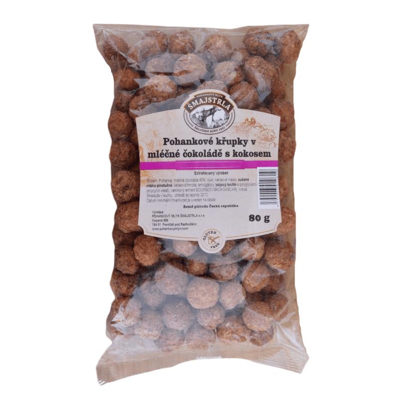 Pohánkové chrumky kokosové Šmajstrla 80 g