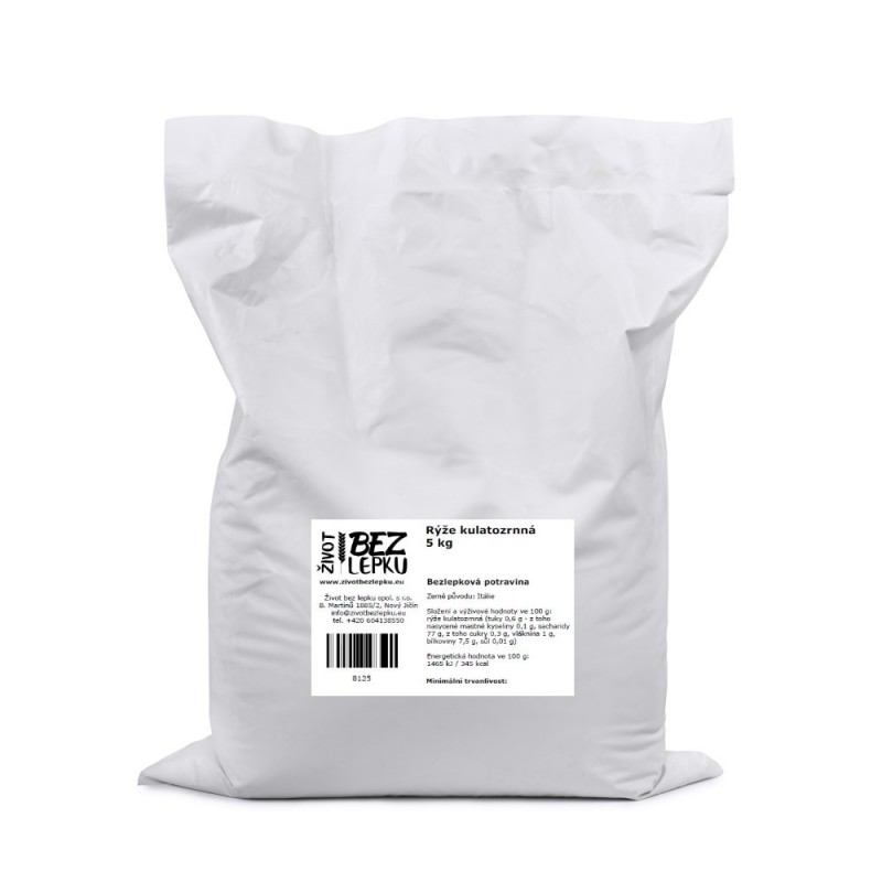 Rýže kulatozrnná 5 kg