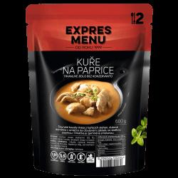 Kurča na paprike 2 porcie EXPRES MENU 600 g