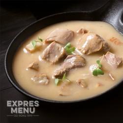 Krůta na slanině 2 porce EXPRES MENU 600 g
