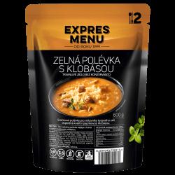 Zelná s klobásou 2 porce EXPRES MENU 600 g