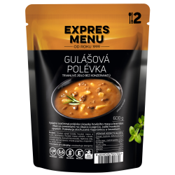 Gulášová polévka 2 porce EXPRES MENU 600 g