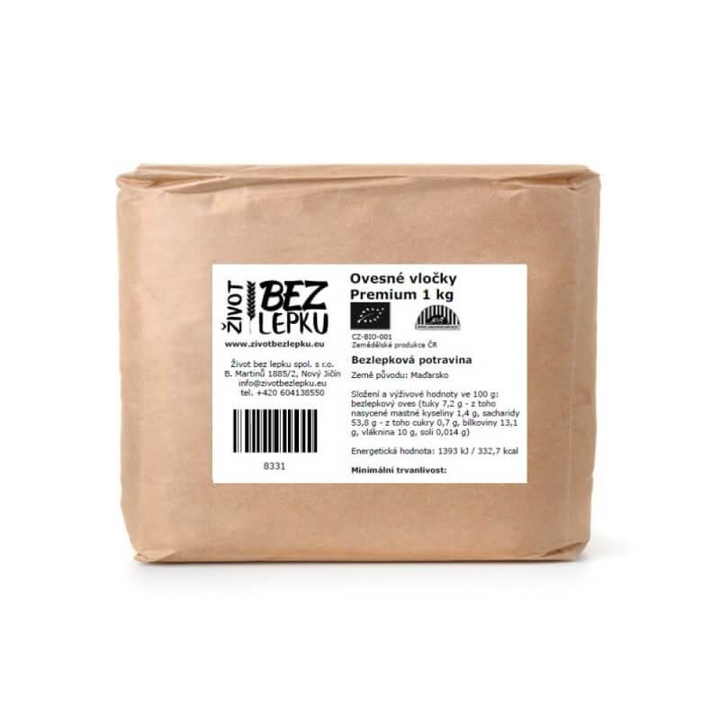 Ovesné vločky Premium 1 kg