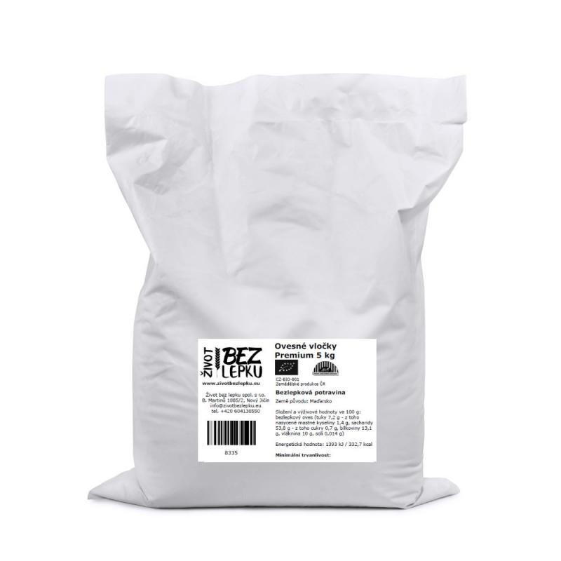 Ovesné vločky Premium 5 kg