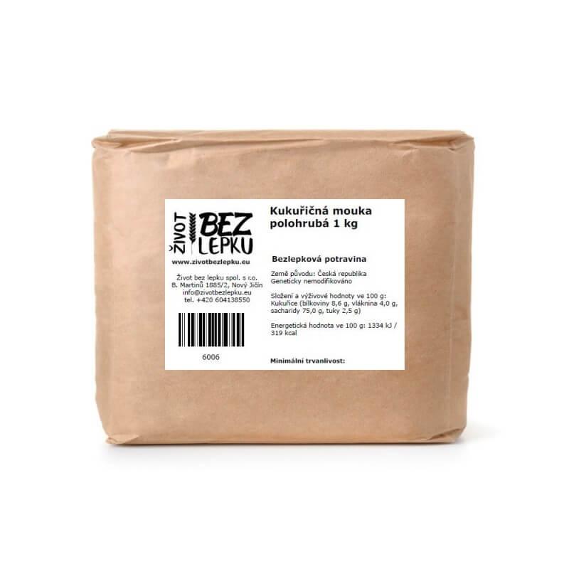 Kukuričná múka polohrubá 1 kg
