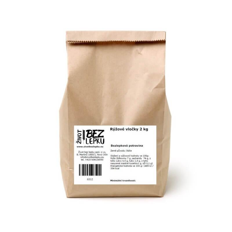 Rýžové vločky instantní 2 kg