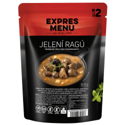 Jelení ragú 2 porcie EXPRES MENU 600 g