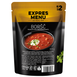 Boršč 2 porce EXPRES MENU 600 g