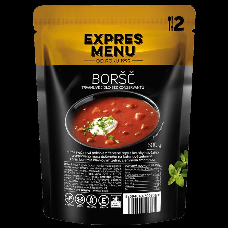 Boršč 2 porcie EXPRES MENU 600 g