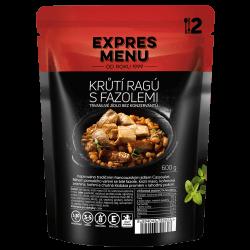 Krůtí ragú s fazolemi 2 porce EXPRES MENU 600 g