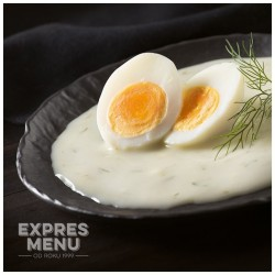 Kôprová omáčka s vajciami 2 porcie EXPRES MENU 600 g