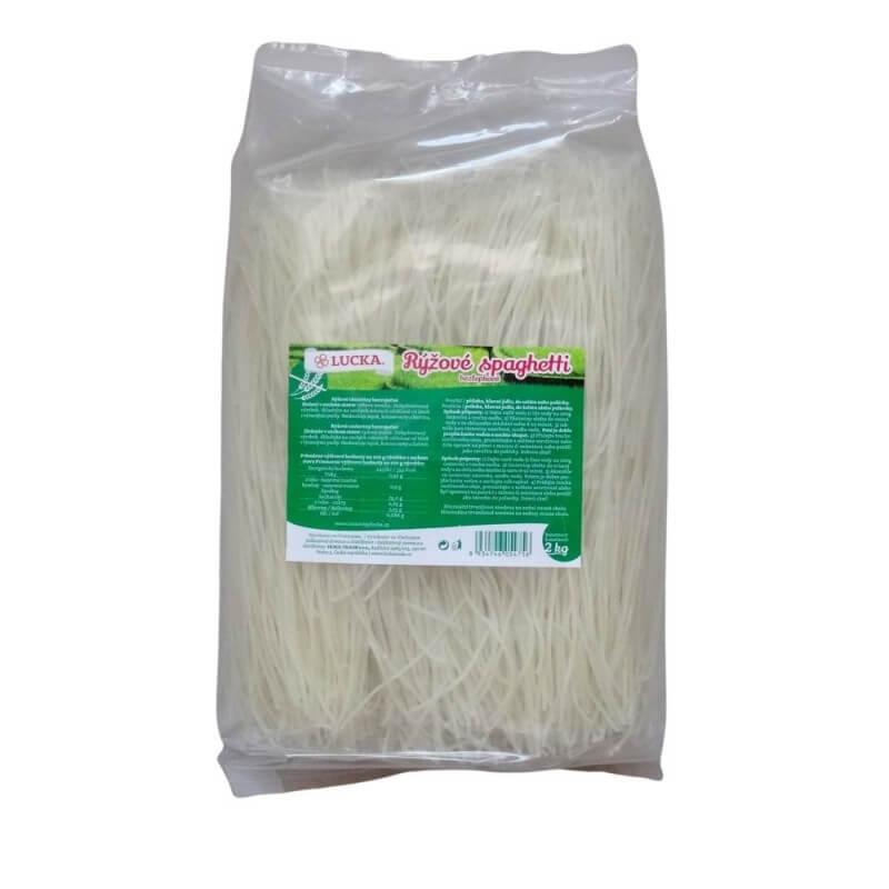 LUCKA rýžové špagety 2 kg